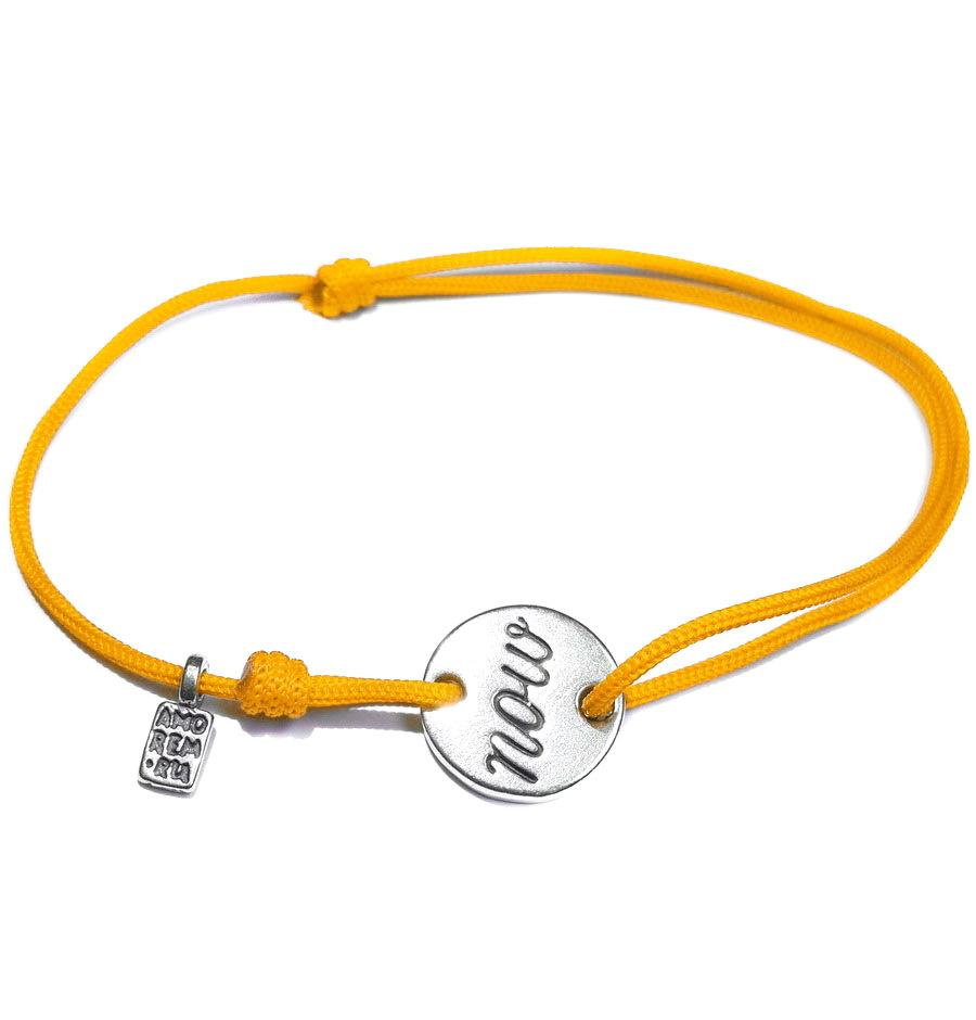 Now bracelet, sterling silver