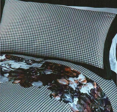 Постельное белье 2 спальное евро RoccoBarocco Romantik Dark