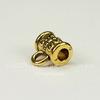 Бейл с узором 7х5,5 мм (цвет - античное золото)