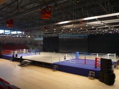 Боксёрский ринг на помосте 1 м 4x4 TOTALBOX Р100 50-4