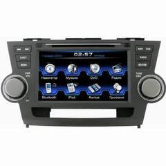 Штатная магнитола для Toyota Highlander 07-11 Incar CHR-2298 HL
