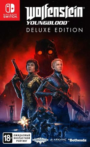 Nintendo Switch Wolfenstein: Youngblood. Deluxe Edition (код загрузки, без картриджа, русские субтитры)