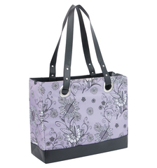 Сумка-термос Raya 24 Can Tote-Purple Flower Thermos