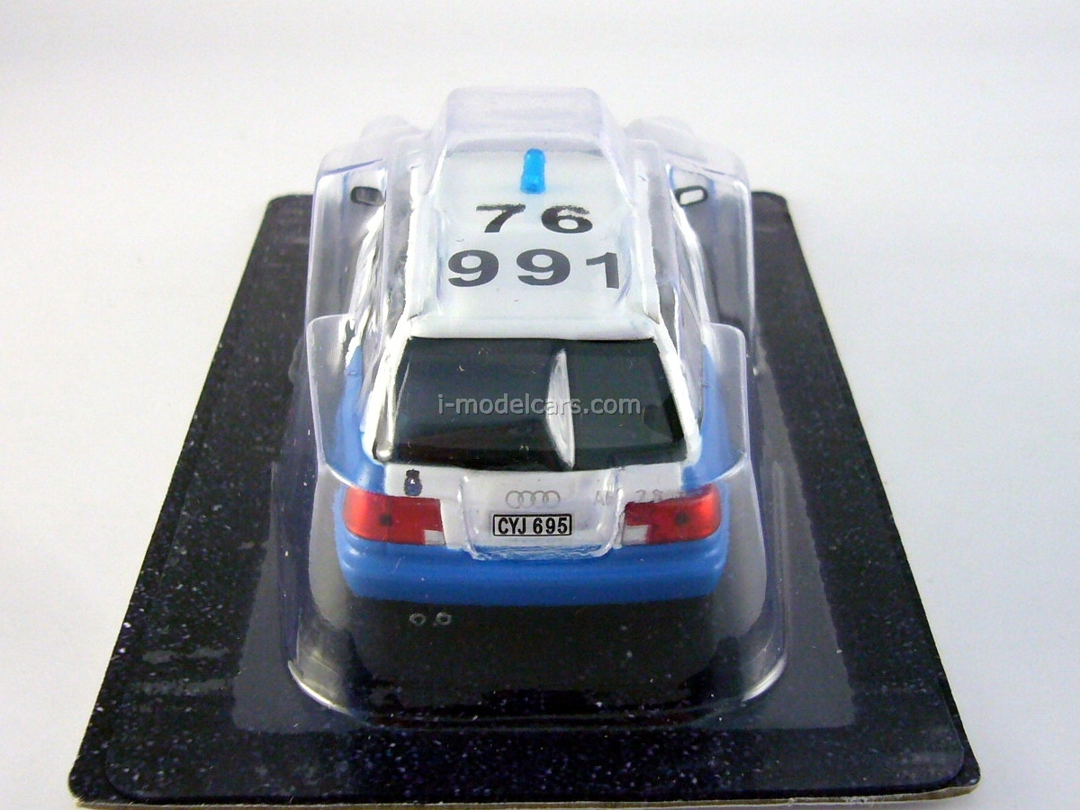 Audi A6 Avant Police Sweden 1:43 DeAgostini World's Police Car #38