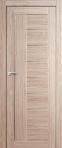 Дверь Profil Doors №17Х, стекло матовое, цвет капучино мелинга, остекленная