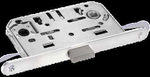 Фурнитура - Замок Сантехнический магнитный Morelli М1895 SC, цвет матовый хром сталь + многослойное гальваническое покрытие