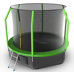 Батут EVO JUMP Cosmo 10ft (Green)+нижняя сеть