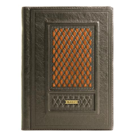 Ежедневник А5 коричневый «Монархия»