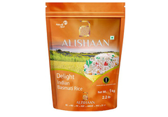 Непропаренный индийский рис басмати DELIGHT, 1кг