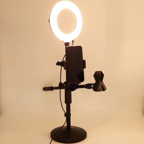 Кольцевая лампа LED RING RC72 (13 см)