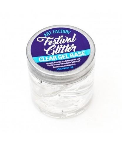 Festival glitter прозрачная гелевая основа 4