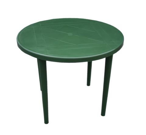 Стол круглый д-900. Цвет: Темно-зеленый