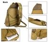 Тактический однолямочный рюкзак Cool Walker 641 Черный