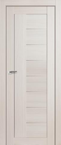 Дверь Profil Doors №17Х, стекло матовое, цвет эш вайт мелинга, остекленная