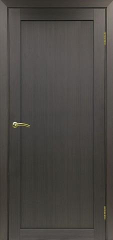 Дверь Optima Porte Турин 501.1, цвет венге, глухая