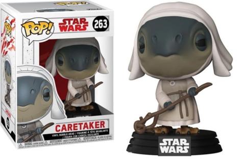 Funko POP: Star Wars: The Last Jedi – Caretaker Bobble-Head