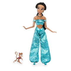 Кукла Принцесса Жасмин (Jasmin) Перевыпуск с питомцем - Алладин (Alladin), Disney