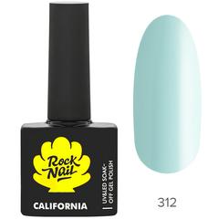 Гель-лак RockNail California 312 Fresh Air, 10мл.