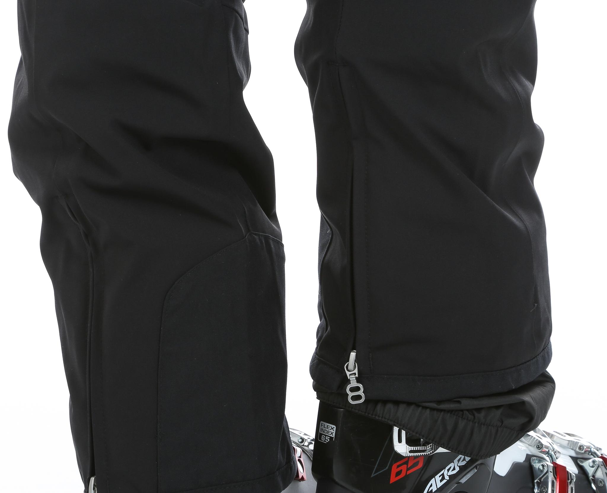Женские брюки для лыж  8848 Altitude Poppy (668608) черные фото