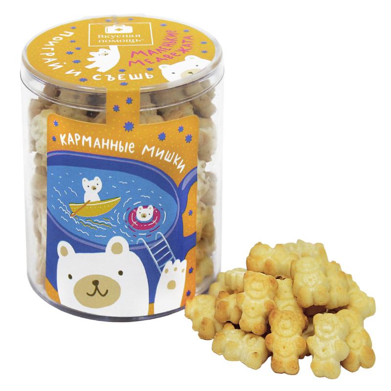 Детское печенье «Карманные Мишки» поиграй и съешь