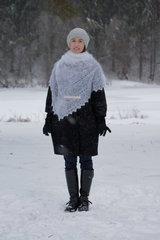 Оренбургский пуховый платок 71 фото 2