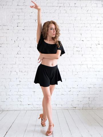 Юбка-шорты для танцев арт.310