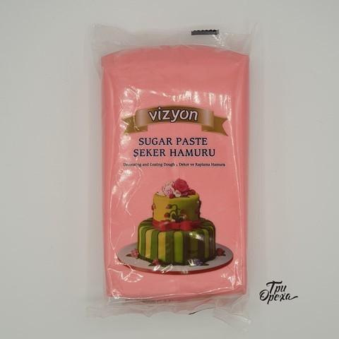 Паста для лепки Мастика розовая Polen (Vizyon), 1 кг.