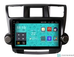 Штатная магнитола для Toyota Highlander 07-12 на Android 6.0 Parafar PF035Lite