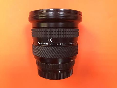 Tokina Af 19-35 мм f/3.5-4.5 объектив для PENTAX комиссия