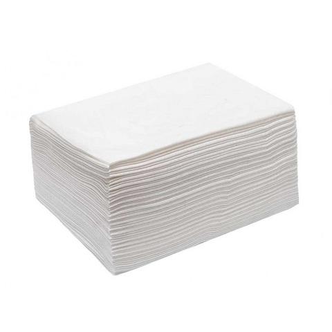 Полотенце большое Софт белое пачка 45*90 50шт/уп