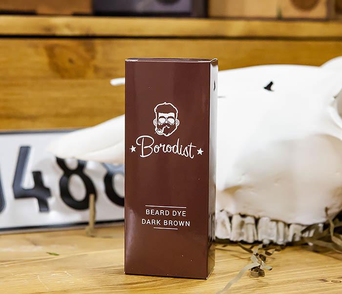 CARE118-2 Коричневая краска для бороды Borodist (Dark Brown)