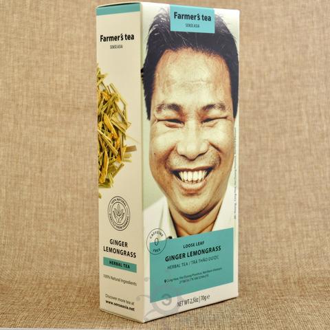 Чай травяной имбирь и лемонграс Sense Asia, 100г