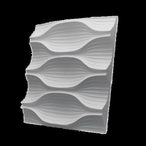 Гипсовая 3Д панель Мун