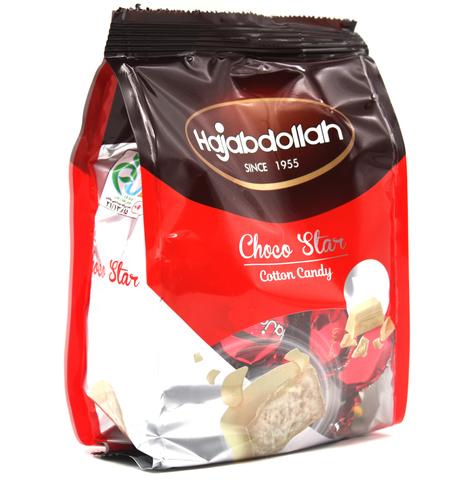 Пишмание с молочным вкусом в белой глазури Choco Star, Hajabdollah, 180 г