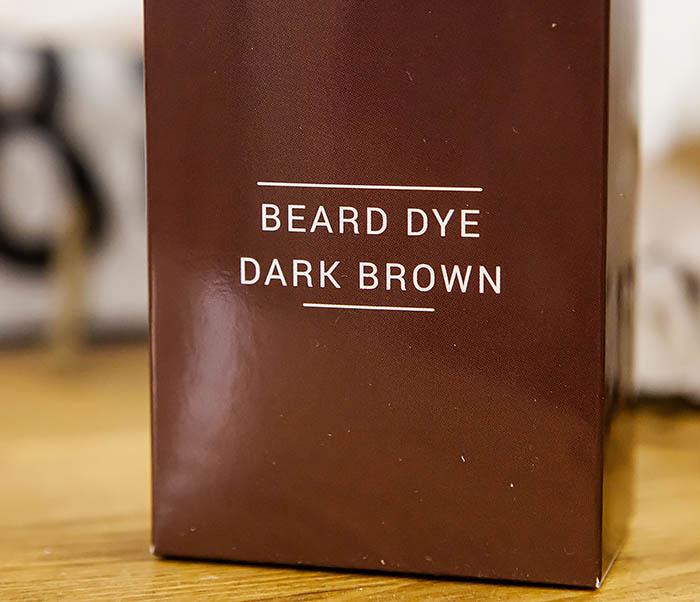 CARE118-2 Коричневая краска для бороды Borodist (Dark Brown) фото 02