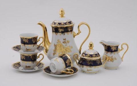 Сервиз кофейный 15 предметов чашка 0,15 л Мэри-Энн Leander
