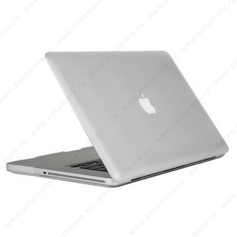 Накладка пластиковая для Macbook Pro 15 Touch Bar 2016 матовая прозрачный