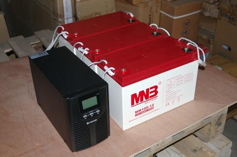 Аккумулятор MNB MM 100-12 - фото 3