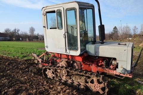 Tractor T-70S 1:43 Hachette #50