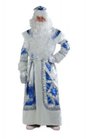 Дед Мороз серебряно-синий