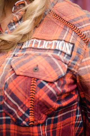 Affliction рубашка LUSH LIFE