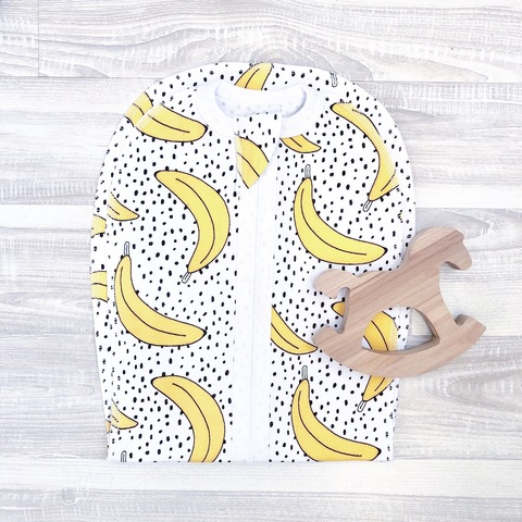 Пеленка-кокон Mjölk  Бананы
