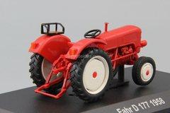 Tractor Fahr D 177 1958 1:43 Hachette #105