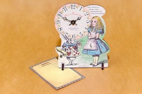 Часы настольные Timeworks Alice in Wond POTAIW