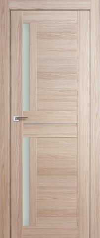 Дверь Profil Doors №19Х, стекло матовое, цвет капучино мелинга, остекленная