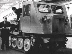 Tractor TDT-40 skidder 1:43 Hachette #43