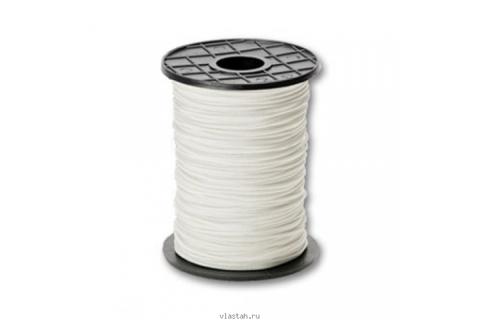Линь Пеленгас капроновый белый D 2мм, за 1 метр