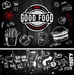 Макет для фудтрака Good Food
