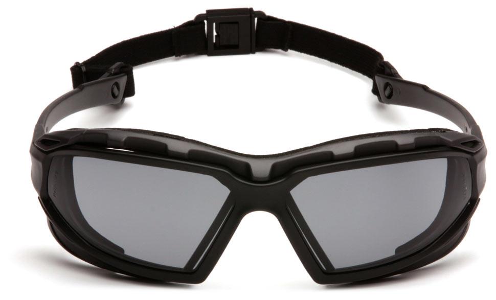 Очки баллистические тактические Pyramex Highlander-Plus SBG5020DT Anti-fog серые 23%