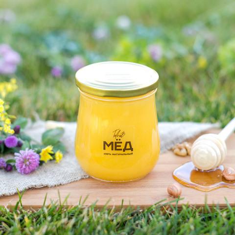Цветочный мёд середины лета 660 г